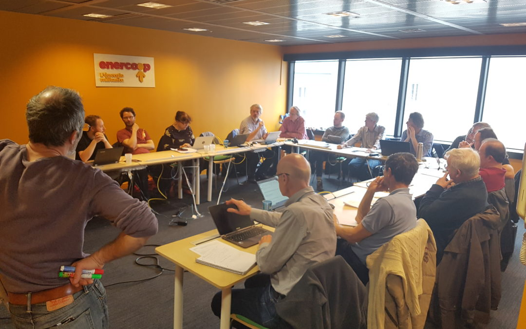 Journée de travail sur l'énergie citoyenne Ile de France