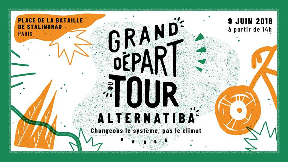 Rencontrez EnerCit'IF le 9 juin au grand départ du Tour Alternatiba 2018