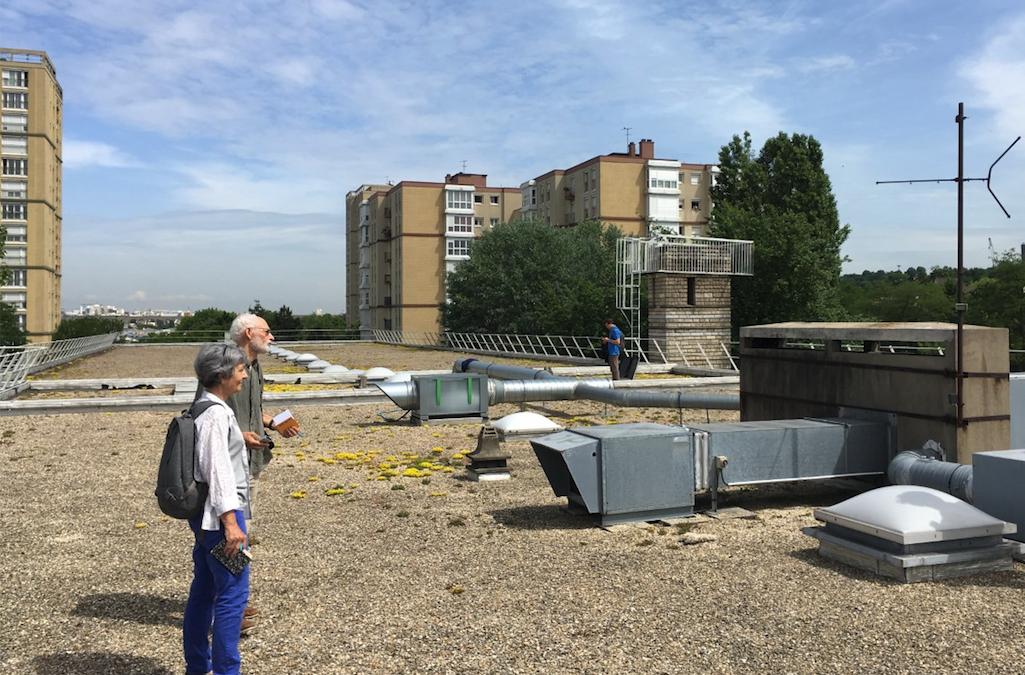 La recherche de toitures s'étend aux toitures privées