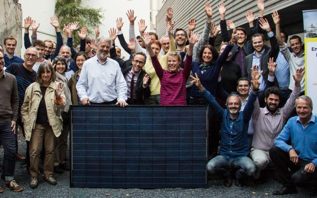 Enercitif remporte la consultation de la Ville de Paris pour l'installation des neuf premières centrales solaires citoyennes dans la capitale