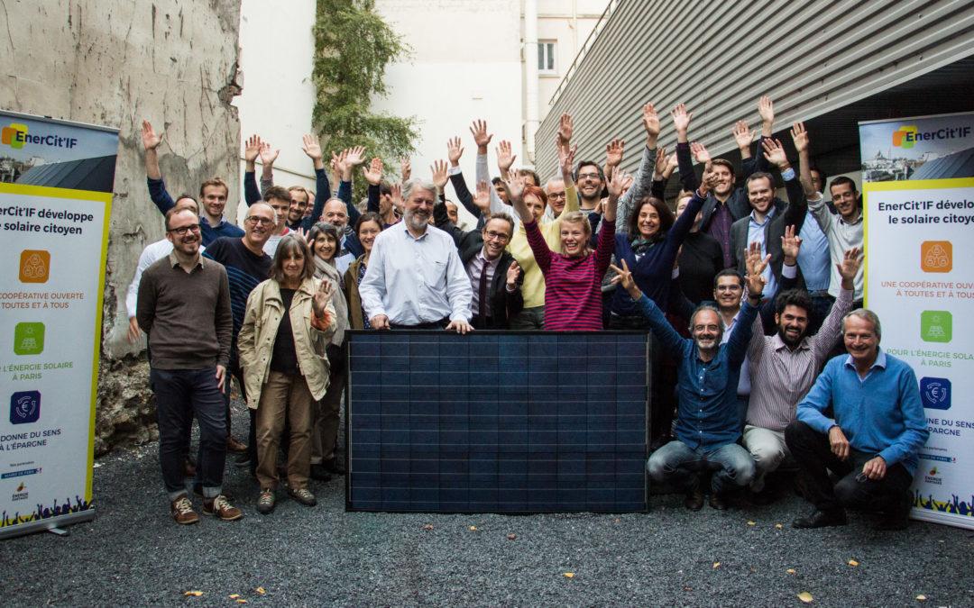 La société coopérative Enercitif est créée !