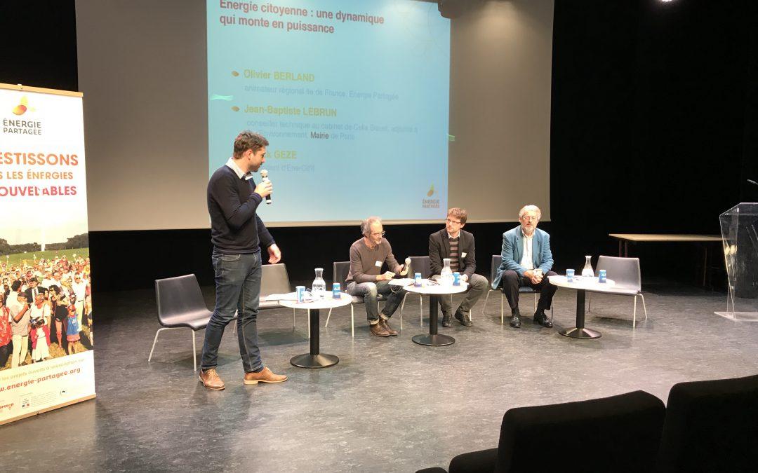 Énergies renouvelables citoyennes. Et en Île-de-France ?