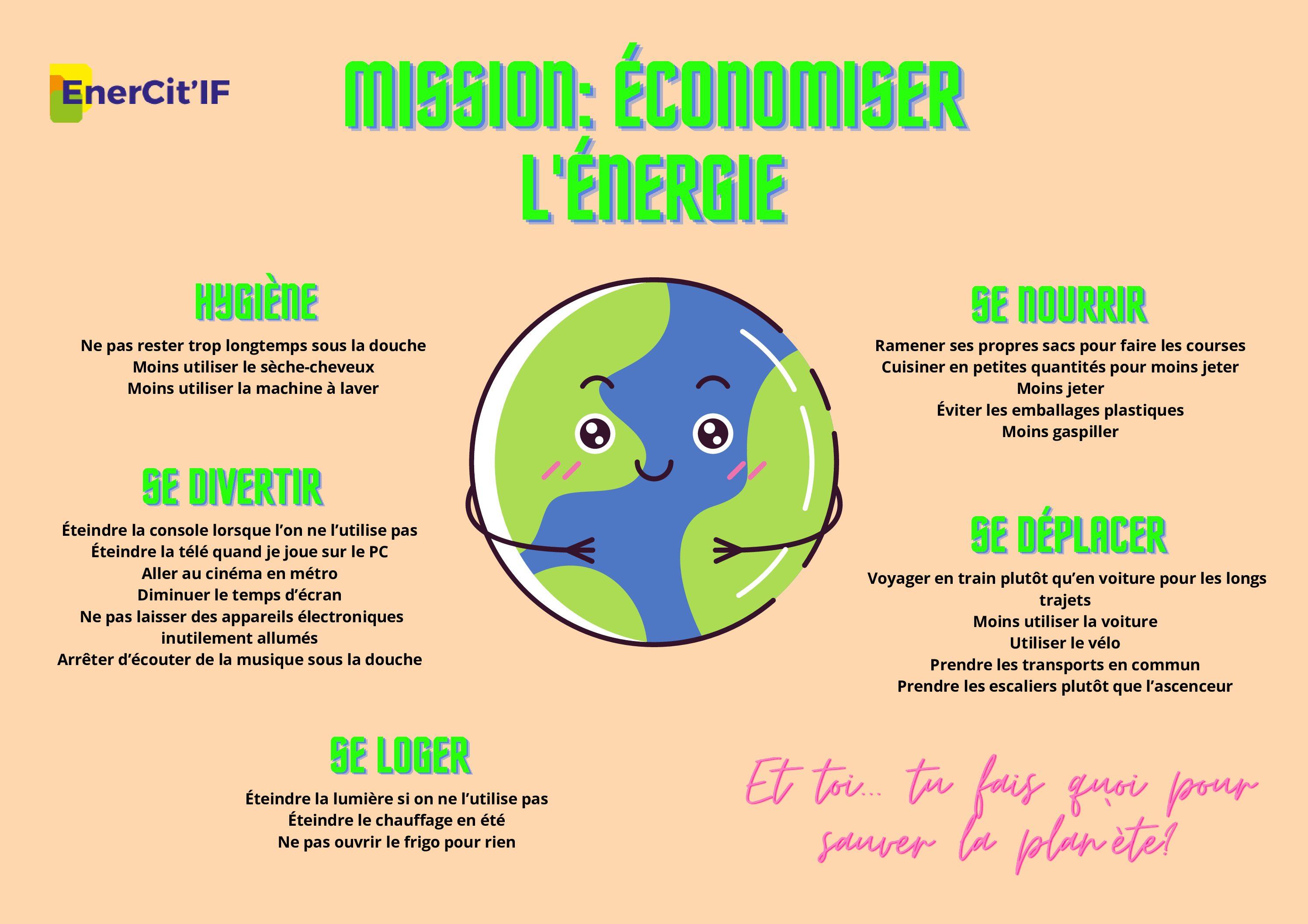 Enercitif s'implique dans les écoles pour sensibiliser les élèves à la sobriété énergétique et aux enjeux associés