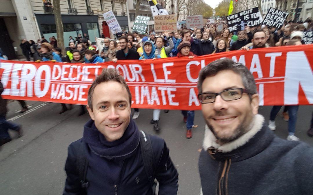 EnerCit'IF à la marche pour le climat