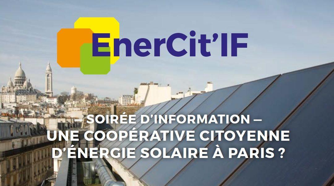 EnerCit'IF organise deux soirées d'informations